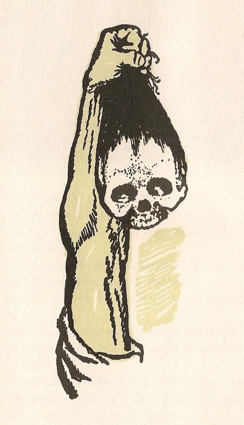 Na cova dos carcamáns - Cousas de Castelao