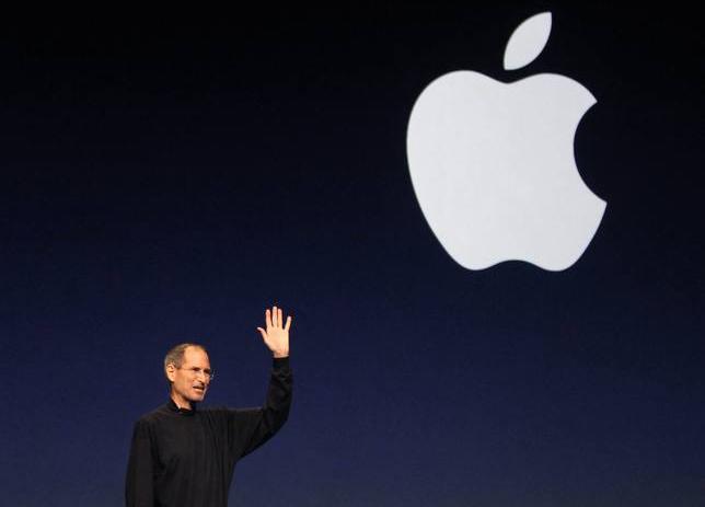 Steve Jobs durante la presentación del iPad 2 en San Francisco (foto de archivo de Apple Inc.)